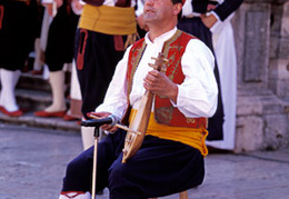 dubrovnik traditional musician